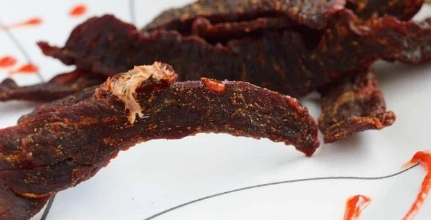 Sweet Heat Sriracha Jerky Preview