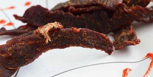 Sweet Heat Sriracha Jerky Preview
