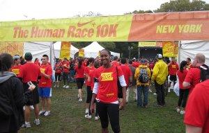 Jerlyn Thomas Nike Plus Human Race