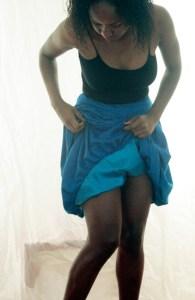 Inside of skirt