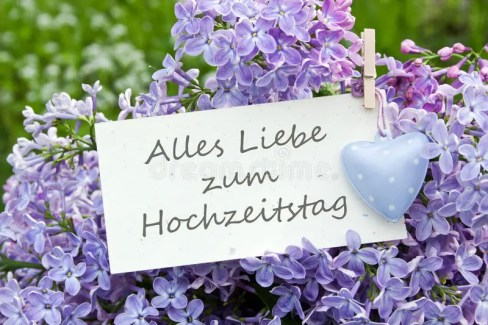 Wedding Anniversary Auf Deutsch Jermania