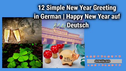 12 Simple New Year Greeting in German