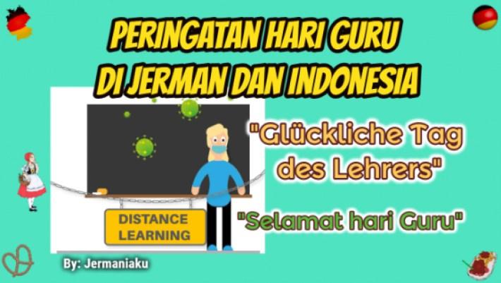 Peringatan Hari Guru Nasional di Jerman dan Indonesia