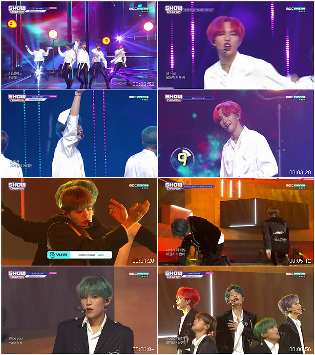 191016 MBC Show Champion AB6IX - BE THERE + BLIND FOR LOVE