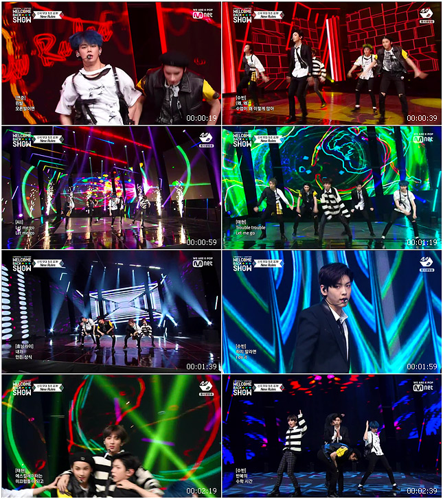 191021 Mnet TOMORROW X TOGETHER WELCOME BACK SHOW TXT - New Rules