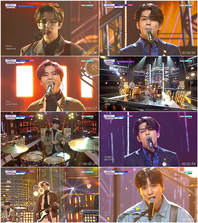 191030 MBC Show Champion DAY6 - Sweet Chaos