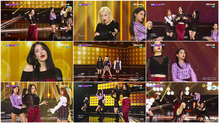191112 SBS THE SHOW HINAPIA - DRIP