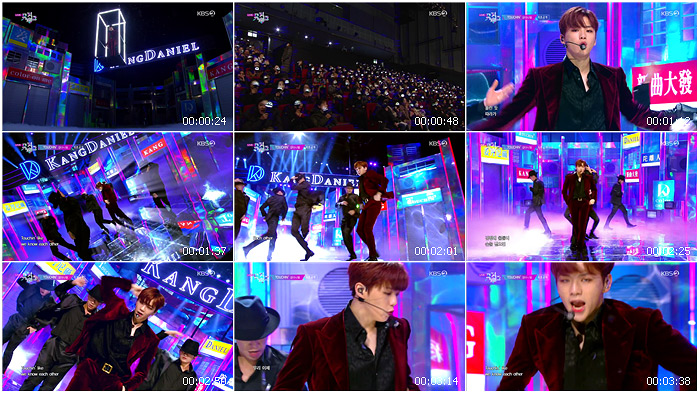 191129 KBS Music Bank KANG DANIEL - TOUCHIN'