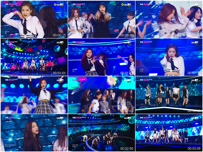 200303 SBS THE SHOW LOONA - So What