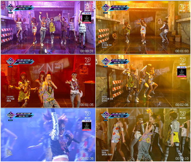 200416 Mnet M! Countdown 2NE1 - Fire