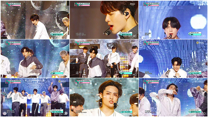 200502 MBC Music Core GOT7 - NOT BY THE MOON