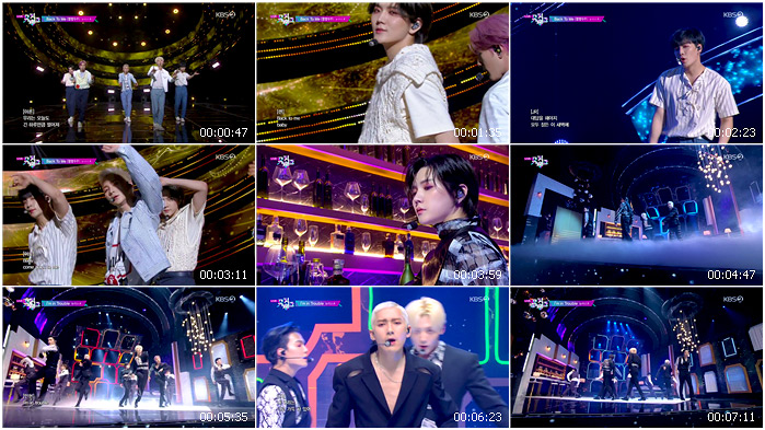 200515 KBS Music Bank NU'EST - Back To Me + I'm in Trouble