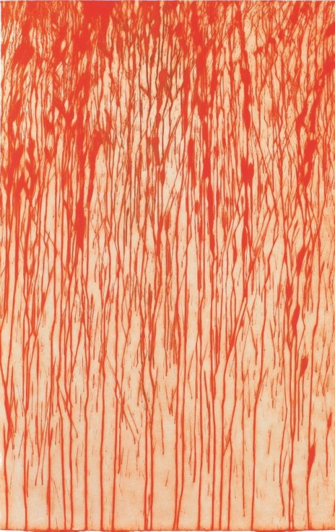 [The Lark in the Clear Air 2014 /Courtesy Richard Long and Alan Cristea Gallery, London]