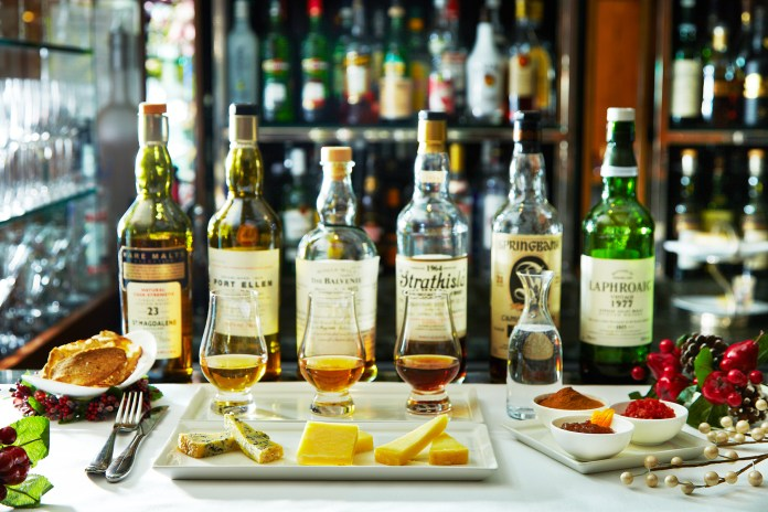 Capital Whisky & Cheese Pairing