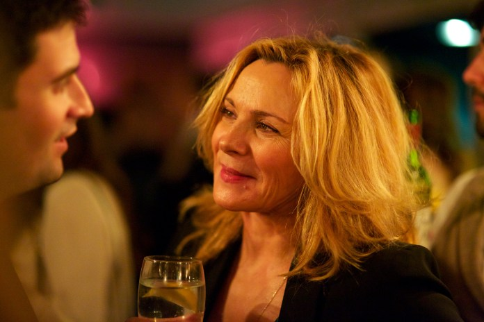 Kim Cattrall attends the Spectator Life 3rd Birthday Party at Belgraves Hotel (7)