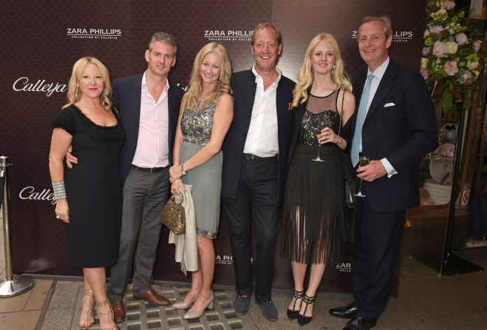 attends the official launch of The Zara Phillips Collection by Calleija at the Royal Arcade on June 18, 2015 in London, England.
