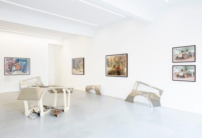 Installation View, Sean Lynch, DeLorean Progress Report, Ronchini Gallery, 22 May - 27 June 2015, Courtesy Ronchini Gallery (15)