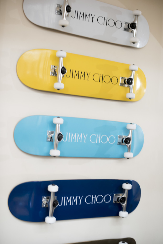 JIMMY CHOO SS16 SKATEBOARDS - Photo Credit, Jimmy Choo, Jason Lloyd-Evans