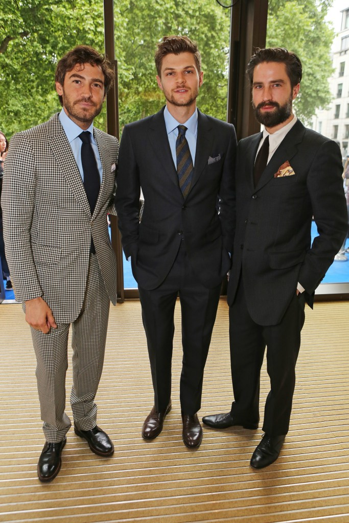 attends the Dunhill and GQ style party to celebrate LCM SS16 at Bourdon House on June 14, 2015 in London, England.