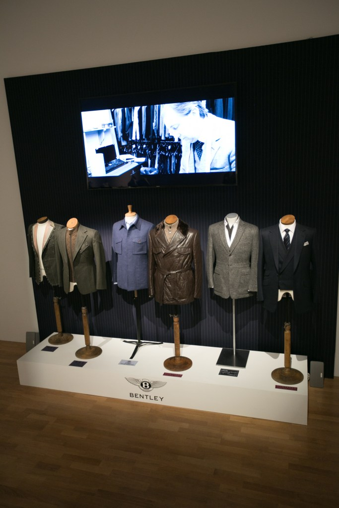 The Bentley x Savile Row range
