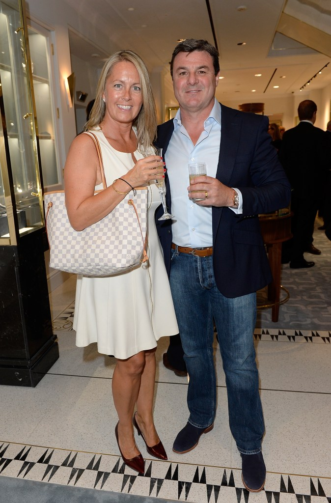 LONDON, ENGLAND - JUNE 24: Mark Blundell and wife Deborah attend William & Son new flagship store launch on June 24, 2015 in London, England. (Photo by David M. Benett/Dave Benett / Getty Images for William & Son) *** Local Caption *** Deborah Blundell; Mark Blundell