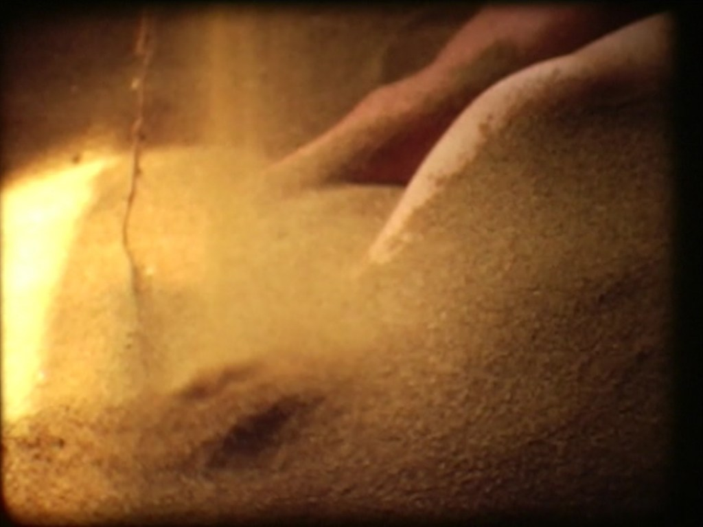 [Barry Flanagan, Still from sand girl, 1970, Super 8 film, Barry Flanagan Archive, London (film in collection of Tate, London) © The Estate of Barry Flanagan, 2015 (1)]