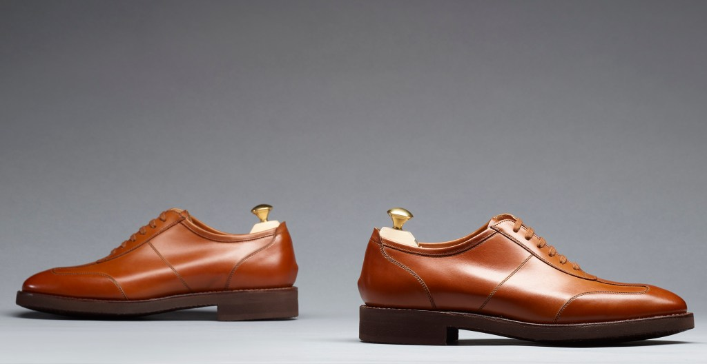 Truro | Mahogany Burnished Calf | Last 341 | Lightweight Rubber Sole | RRP £395