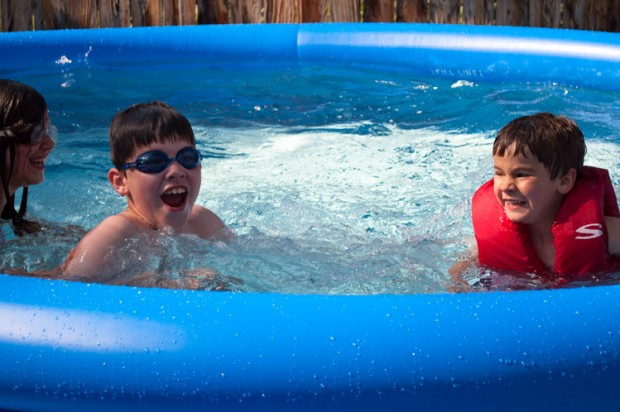 Frozen Pool Faces!