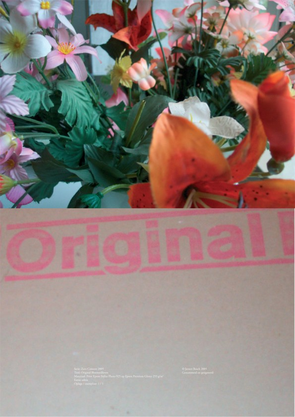 Original bloemstilleven