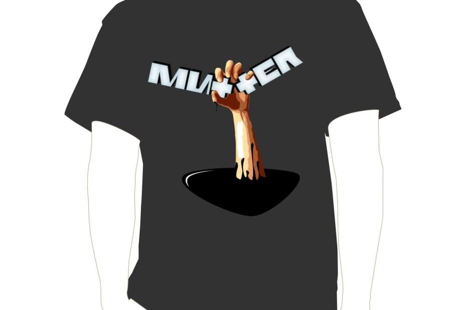 Mutter OIl Skin grey shirt@