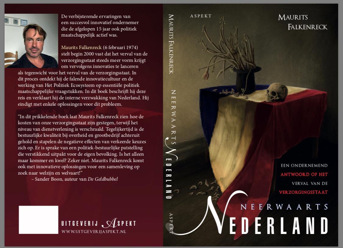 Neerwaarts Nederland Cover with text