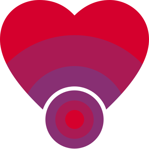 BumpMe Logo Vectorized Reddish Simplified@512