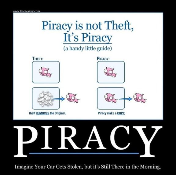 Over piraterij en diefstal