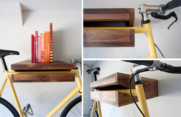 Lust voor het oog: opgehangen fietsen