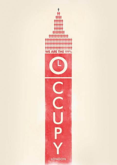 Occuprint: affiches van Occupy
