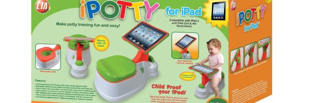 iPotty: swipen en wipen gaan hand in hand