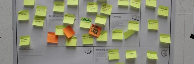Met FryskLab aan het business model canvassen
