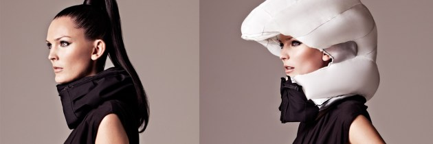 Onzichtbare helm voor stadsfietsers