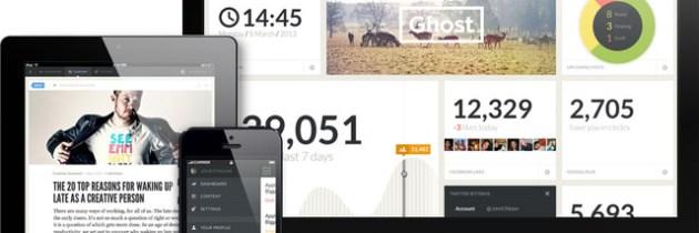 Ghost: bloggen zoals bloggen bedoeld is