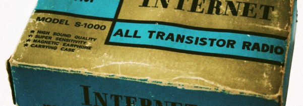 Een Internet Radio (uit de late jaren '60)