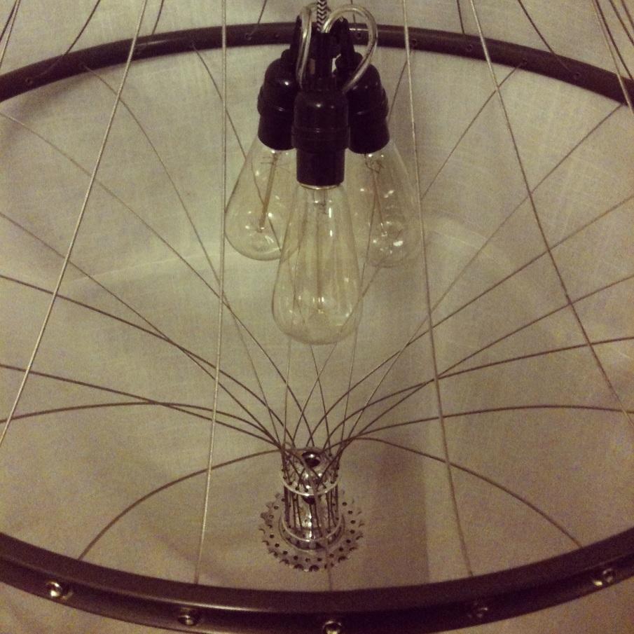 vintage wielerkroonluchter 1