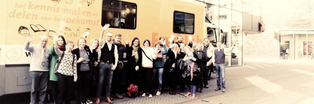 Praten over FabLabs en bibliotheken met Zweedse collega's