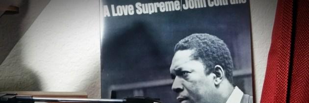 John Coltrane blaast woorden uit zijn sax