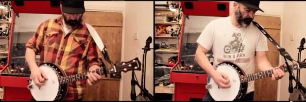 Metallica's Enter Sandman op banjo's (maar dan ook alleen banjo's)