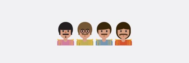 Prachtige collectie emoji's van bands en artiesten