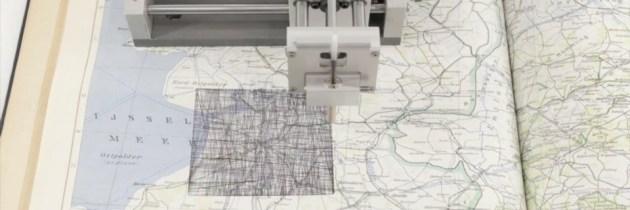Kartograph overschrijft oude landkaarten met nieuwe geodata