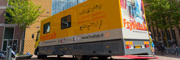 [Publication] The business case of FryskLab, Europe's first mobile library FabLab