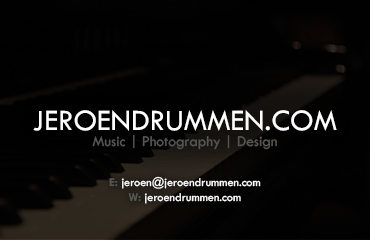 Jeroen Drummen: Business Card (Back)