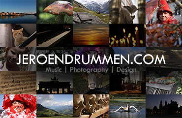 Jeroen Drummen: Business Card (Front Version 1)