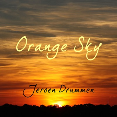 Jeroen Drummen: Orange Sky (Front Cover)